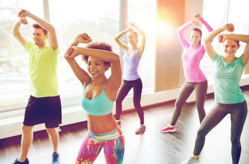 tập aerobics
