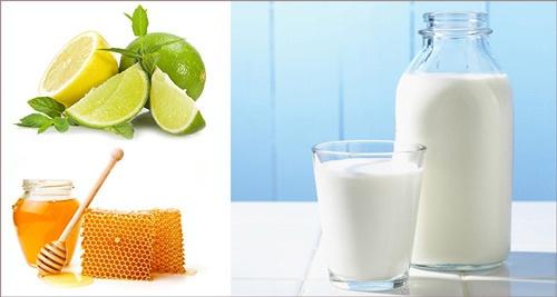 tắm trắng bằng sữa tươi có đường