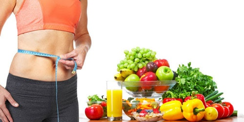 chế độ ăn giảm mỡ bụng