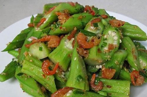 cách ăn đậu bắp giảm cân