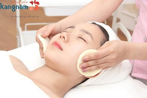 chăm sóc da mặt chuyên sâu tại spa