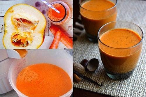 cách nấu súp bí đỏ giảm cân