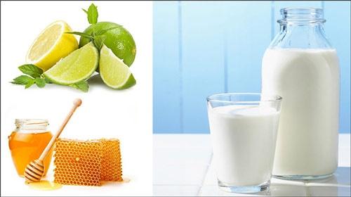 tắm trắng bằng mật ong và sữa tươi