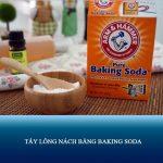 7 cách tẩy lông nách bằng Baking soda tại nhà ĐƠN GIẢN – HIỆU QUẢ
