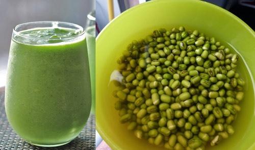 uống nước đậu xanh giảm cân
