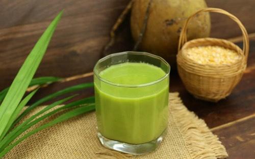 giảm cân bằng sữa đậu xanh