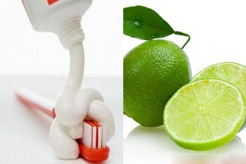 trị thâm môi tại nhà bằng kem đánh răng
