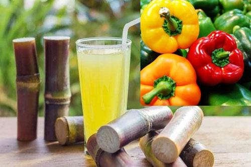 giảm cân bằng nước mía và ớt đà lạt