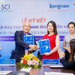 Bệnh viện thẩm mỹ Kangnam hợp tác Học viện Thẩm mỹ SCI đào tạo và cung ứng nguồn nhân lực