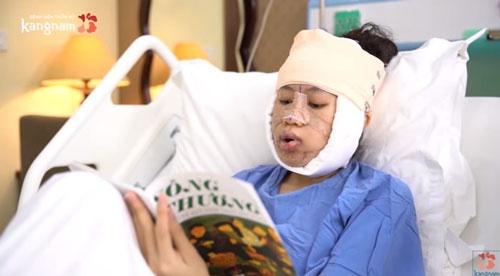 mỹ duyên sau phẫu thuật htlx