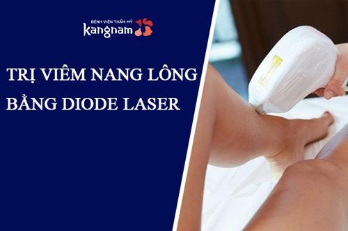 trị viêm nang lông bằng laser