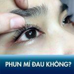 [REVIEW] Chia sẻ kinh nghiệm xăm mí mắt có đau không?