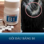 4 cách gội đầu bằng B1 kích thích tóc nhanh dài, mềm mượt