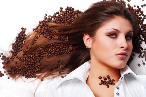 dưỡng tóc bằng cafe