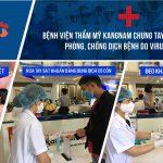 Bệnh viện thẩm mỹ Kangnam chung tay ngăn ngừa dịch Virus Corona (nCoV)