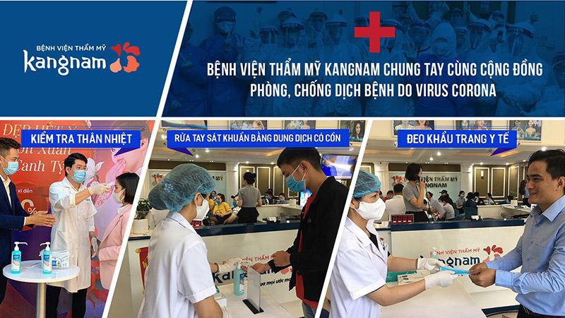Kangnam chung tay cùng cộng đồng ngừa dịch virus corona