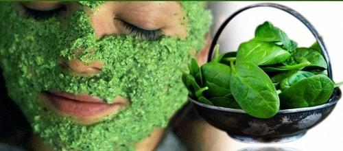 cách dùng rau mồng tơi trị mụn