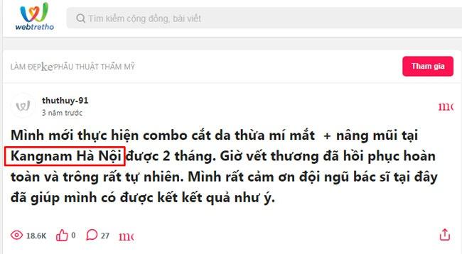 cắt da chùng mí mắt ở đâu tốt tại Hà Nội?