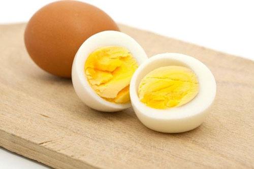bữa sáng giảm cân với trứng