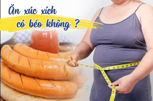 ăn xúc xích có tăng cân không