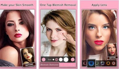app chỉnh sửa khuôn mặt đẹp