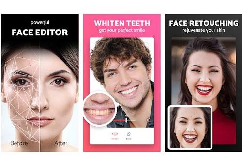 app chỉnh sửa khuôn mặt iphone