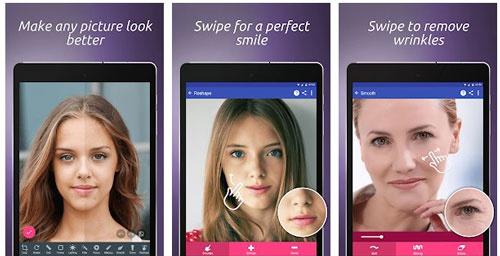 ứng dụng chỉnh sửa khuôn mặt