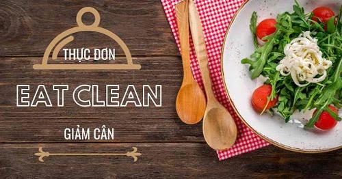 eat clean menu