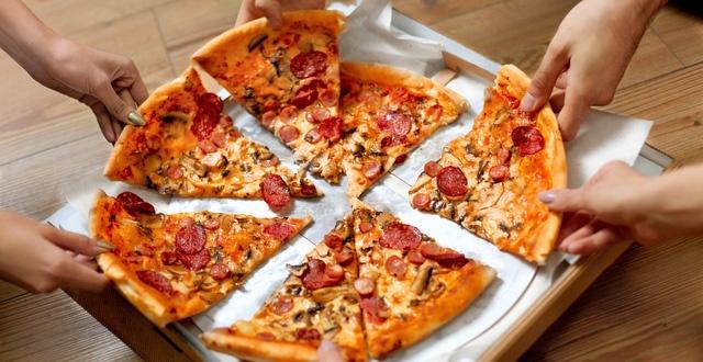 ăn pizza có mập không