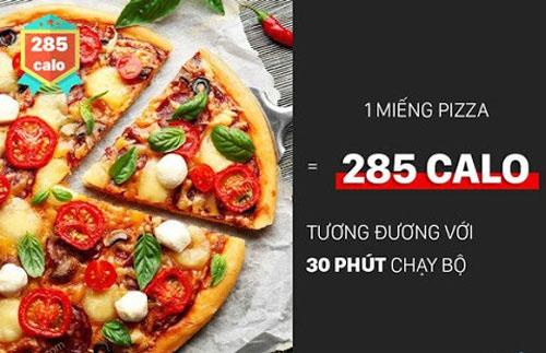 ăn pizza giảm cân